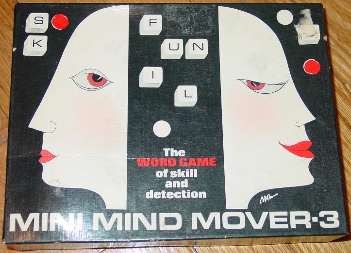 MINI MIND MOVERS 3 WORD GAME 1974 MINDMOVERS  - $20.00