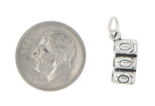 STERLING SILVER SIX PACK OF COLA POP SODA CAN CHARM/PENDANT