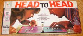 Head To Head Word Building Game 1974 Milton Bradley Com[Plete Excellent - $20.00