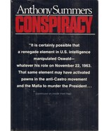 BOOK-Conspiracy by Summers, Anthony  - $29.99