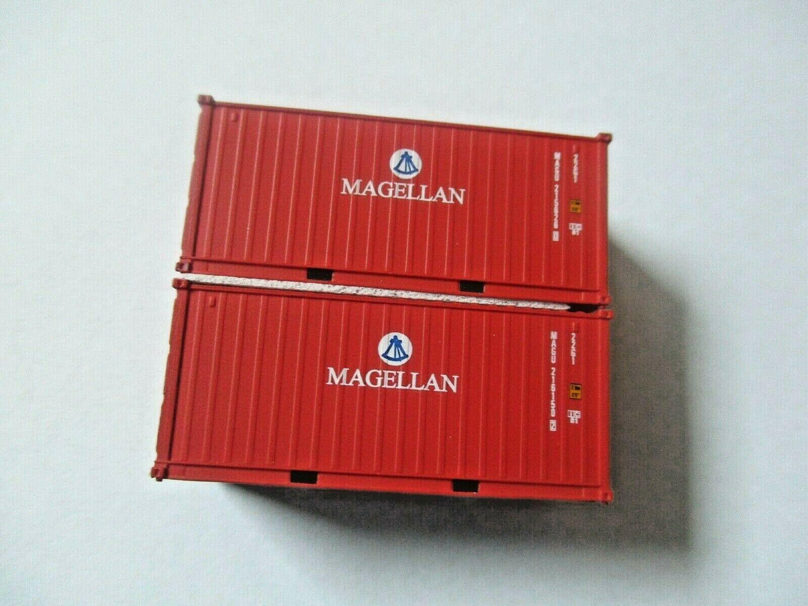 Jacksonville Terminal Company # 205383 MAGELLAN (MAGU) 20' Standard Container