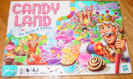 CANDY LAND WORLD OF SWEETS GAME 2010 HASBRO COMPLETE - $10.00