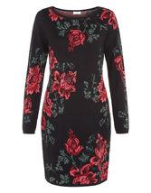 MONSOON Rosa Cotton-Knit Dress BNWT image 3