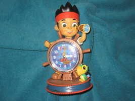 Disney Store Jake and the Neverland Pirates Clock. Brand New in Factory ... - $32.66