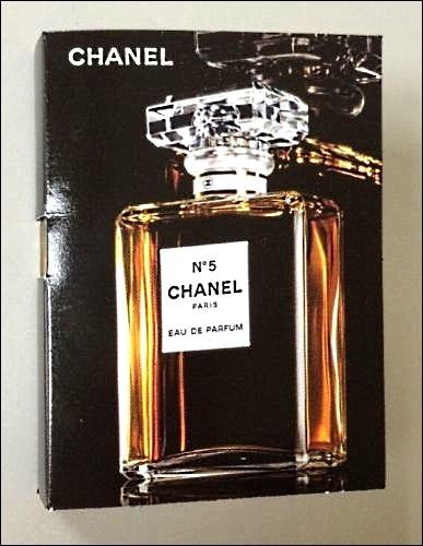 chanel no 5 eau de parfum 1 5 ml 05 oz sample vial women. Black Bedroom Furniture Sets. Home Design Ideas