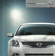 2010 Nissan ALTIMA HYBRID sales brochure catalog US 10 - $8.00