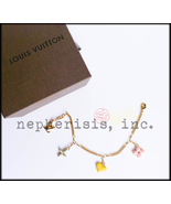 AUTH BNIB Louis Vuitton SWEET MONOGRAM Charm Fa... - $550.00