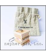 AUTH NEW Louis Vuitton VIP TOKYO UNDERGROUND 2009 WOODEN MINI CRATE KEY ... - $400.00