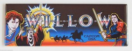 Willow Marquee FRIDGE MAGNET arcade video game ... - $6.50