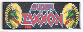 Super Zaxxon Marquee FRIDGE MAGNET arcade video... - $9.99