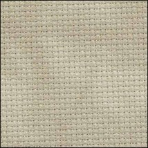 Historic Green 14ct Aida Hand Over Dyed 35x19 cross stitch fabric Fabric... - $29.70