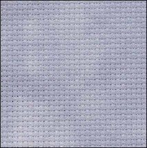 Bridesmaid 14ct Aida Hand Over Dyed 35x39 cross stitch fabric Fabric Flair - $59.40