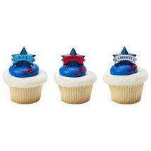 144 Banner Star Cupcake Rings [Misc.] - ₨1,473.36 INR