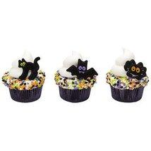 12 Halloween Character Cupcake Rings [Misc.] - $2.25