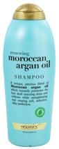 OGX Organix Renewing Moroccan Argan Oil Shampoo Salon Club Size 25.4 Ounce - $18.68