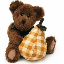 "Boyds Bears ""Bosc P. Pearsley"" 8"" Plush Bear -  #904163- New- 2003 - $19.99"