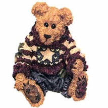 "Boyds Bearstone ""Eddie.. Proud To Be A Bearmerican"" #228312- 4E- NIB- Retired - $11.99"