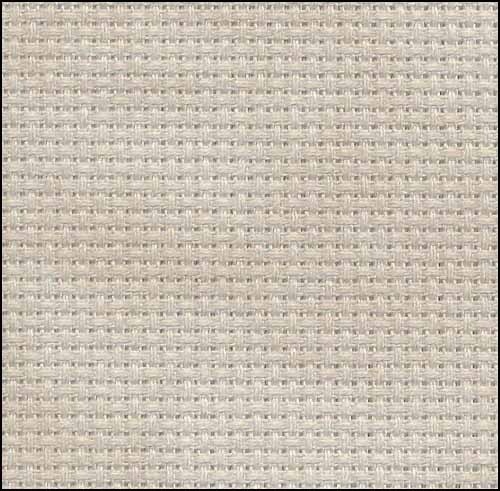 Historic Beige 14ct Aida Hand Over Dyed 35x39 cross stitch fabric Fabric Flair
