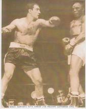 Rocky Marciano Jersey Joe Walcott Vintage 11X14 Sepia Boxing Memorabilia... - $9.95