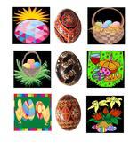 Easter EggsB40-Digital Download-ClipArt-ArtClip... - $3.85