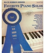 Blue Ribbon Series Favorite Piano Solos Level 2 Volume 2 - $5.95