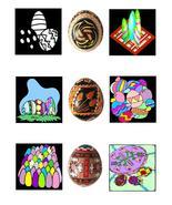 Easter EggsB42-Digital Download-ClipArt-ArtClip... - $3.85