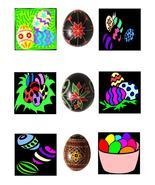 Easter EggsB44-Digital Download-ClipArt-ArtClip... - $3.00