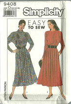 Simplicity Sewing Pattern 9408 Misses Womens Dress Size 12 14 16 Uncut - $9.98