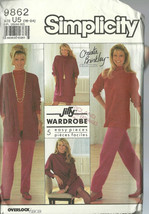 Simplicity Sewing Pattern 9862 Misses Christie Brinkley Coll. 16 18 20 2... - $9.99