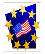 Stars Flag110-Digital Download-ClipArt-ArtClip-... - $4.00