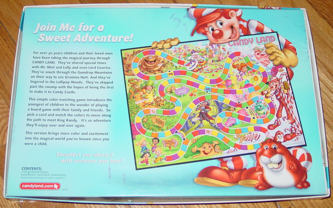 CANDY LAND GAME CANDYLAND 2005 HASBRO TIME FOR US GAMES COMPLETE EXCELLENT image 2