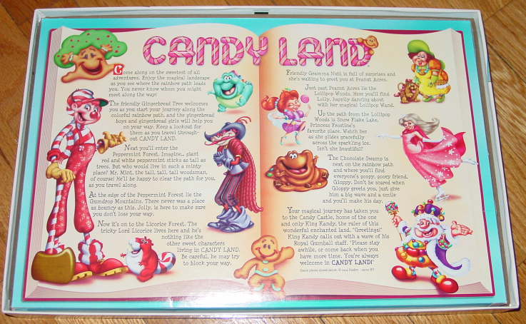 CANDY LAND GAME CANDYLAND 2005 HASBRO TIME FOR US GAMES COMPLETE EXCELLENT image 3