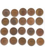 Scarce Unc Roll (20) Large Australia 1961 Half Penny's~Kangaroo~Free Shi... - €114,23 EUR