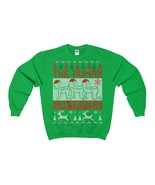 the human santapede ugly christmas sweatshirt xmas - $32.95+