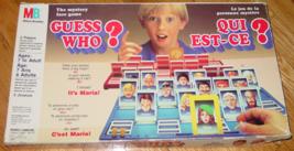 GUESS WHO QUI EST-CE LE JEU DE LA PERSONNE MYSTERE MYSTERY FACE GAME MIL... - $20.00