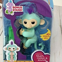 Fingerling Monkey Toy Zoe Turquoise with Purple Hair NEW - $18.51