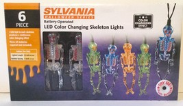 Sylvania Halloween SKELETON LED Battery Operated Light Set - Color Changes - $17.41