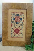 Patriotic Quaker cross stitch chart From The Heart  - $7.20