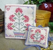 Fairy Garden Needlebook cross stitch chart From The Heart  - $7.20