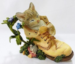 Lenox 2004 sweet dreamers cat figurine in origi... - $34.64