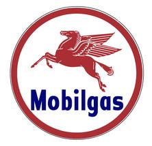 "Mobilgas Pegasus 22"" Metal Sign Vintage Retro A... - $99.95"