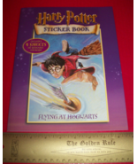 Harry Potter Craft Activity Book Flying At Hogwarts Scholastic Reusable ... - $9.49