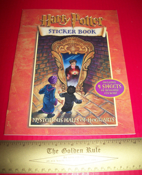 Harry Potter Craft Activity Book Mysterious Halls of Hogwarts Scholastic Sticker