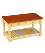 Reutter Dollhouse Empty Kitchen Work Table 1.727/9 Rack Dark Top Rack Mi... - $27.55