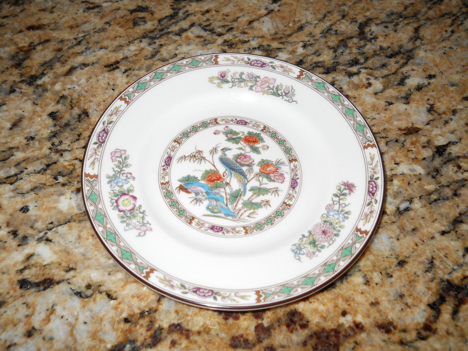 Wedgwood Kutani Crane bread  plate - $12.82