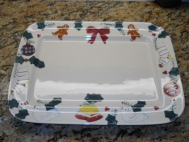 "Hartstone Christmas Traditions 16 1/2"" serving platter - $46.48"