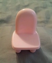 2005 Pink Chair My First Dollhouse Mattel Fisher Price Replacement 2.5 dollhouse - $9.99