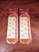 2 Packs of Paper Thanksgiving Napkin Rings, Tur... - $4.95
