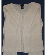 Sz  XL  Junior's White Knit Top by SO...GSJC - $5.99