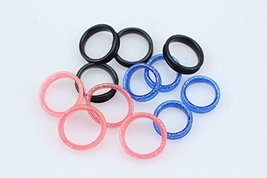 Finger Ring Sizers / Inserts for Scissors - Light Pink - $6.83